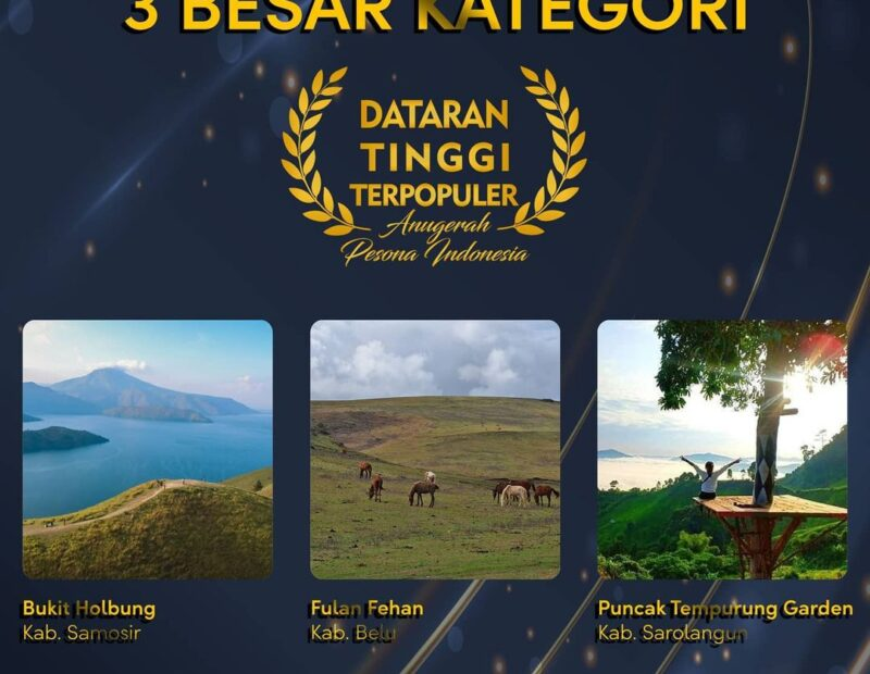 Fulan Fehan Masuk Kategori Dataran Tinggi Terpopuler Anugerah Pesona Indonesia
