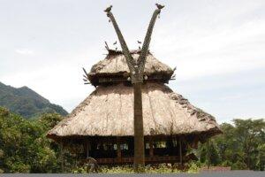 Sa'o Waja (Rumah Adat) Kab. Nagekeo