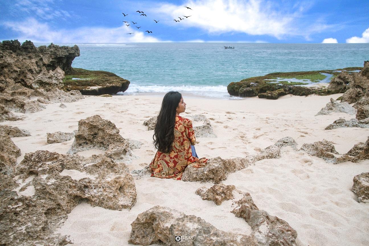 Salah satu view ke laut