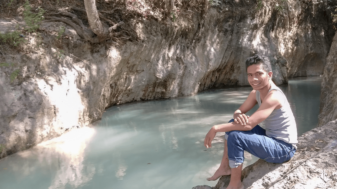 Air Tagepe adalah Surga yang tersembunyi