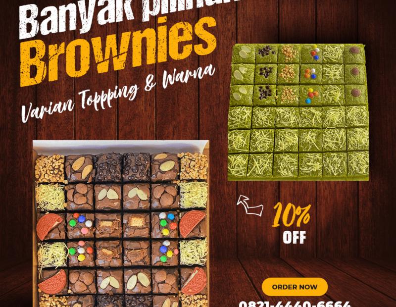 Banyak Varian Brownies