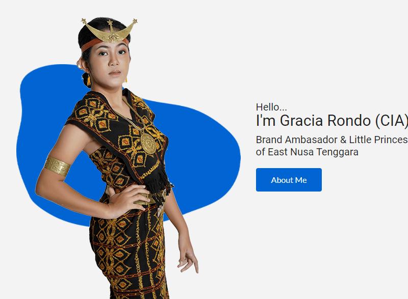 Gracia Rondo - Brand Ambasador East Nusa Tenggara